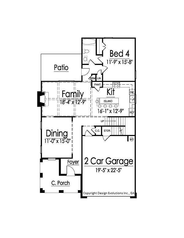 Shannon House Plan