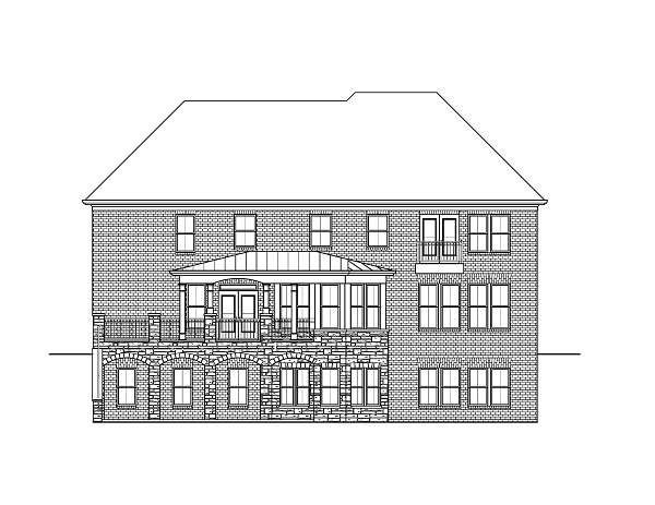 Cashton rear elevation