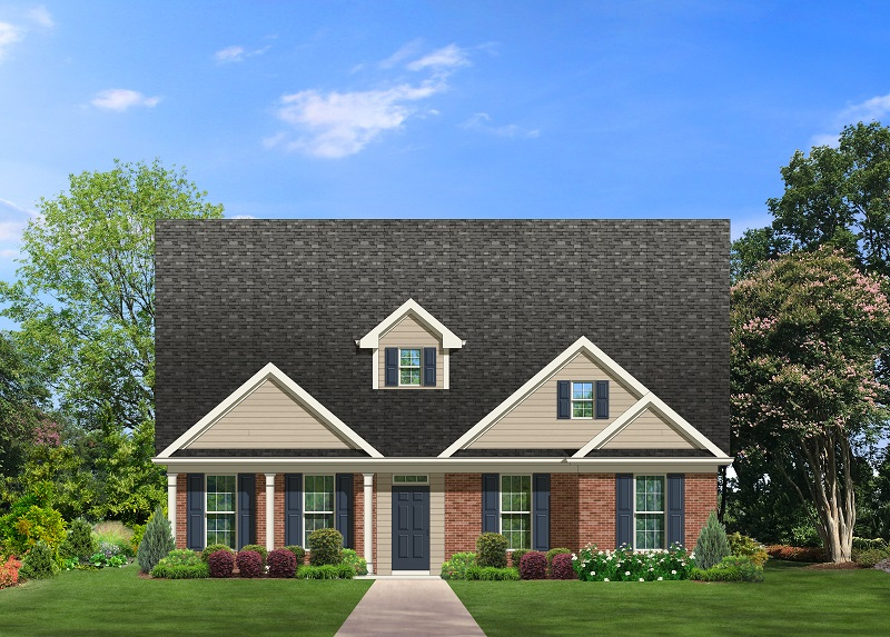 Cape Cod house plans - Bellwood 2