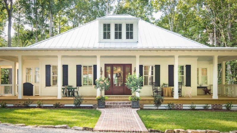 Georgia farmhouse style home
