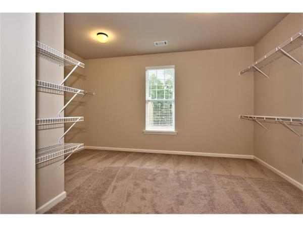 Boxley master bedroom closet