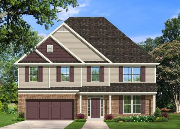 Gatford II house plan rendering