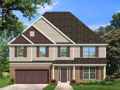 Gatford II house plan rendering