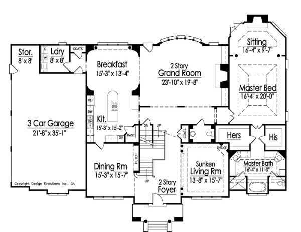 Lexington 1st Floor Plan
