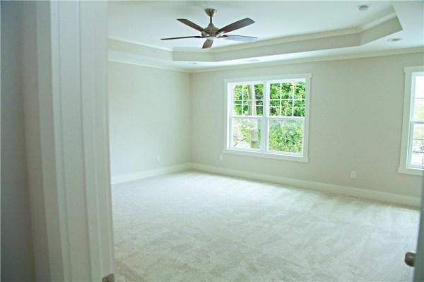 Huntsville Master bedroom