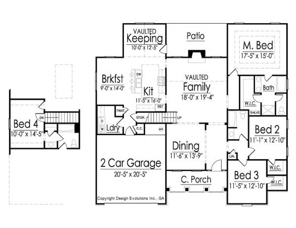 Walton floor plans