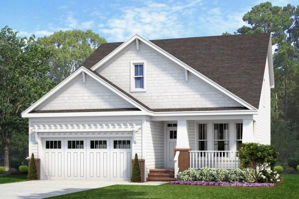 Church Hill House Plan rendering