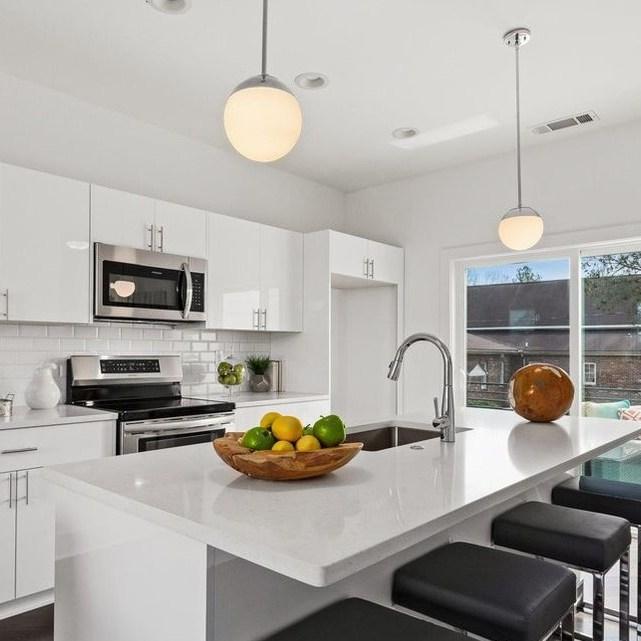 Perla house plan kitchen