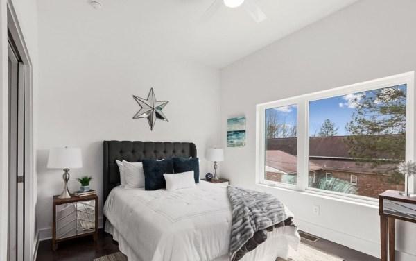 Perla house plan master bed