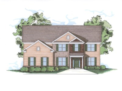 Ashton house plan front elevation