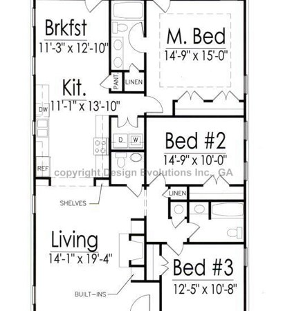 Eggleston floor plan
