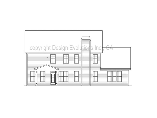 Boxley rear elevation