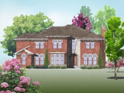 Italianate home plan - The Breedon
