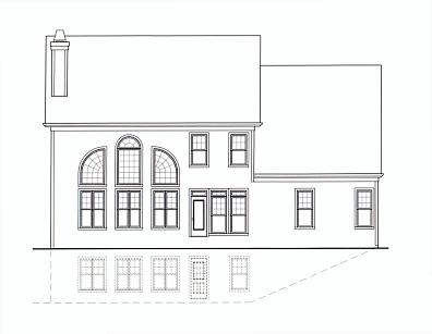 Berkeley B rear elevation