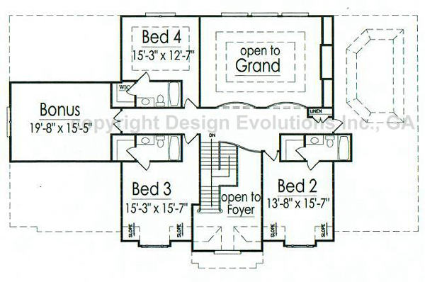 Clairmont second floor