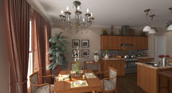 Collins breakfast room