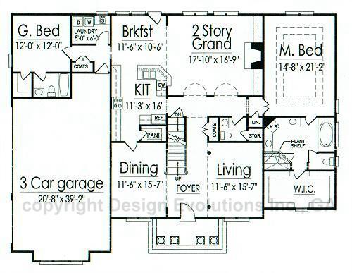 Blanchard first floor