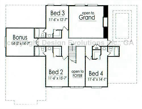Blanchard second floor