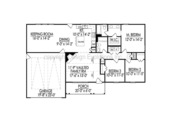 Ellise floor plan
