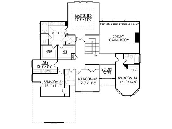 Yancy second floor