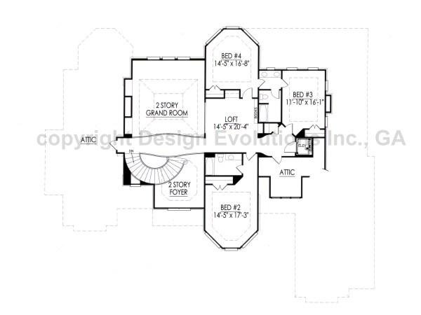 Mansart second floor