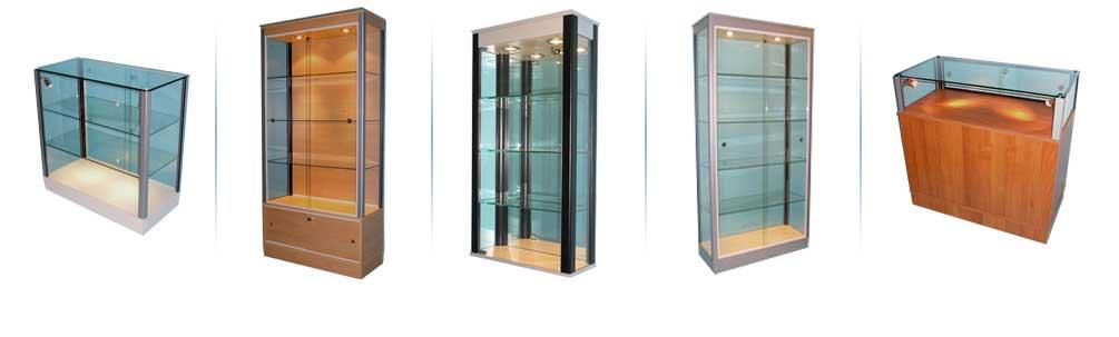 Bespoke Glass Display Cabinets