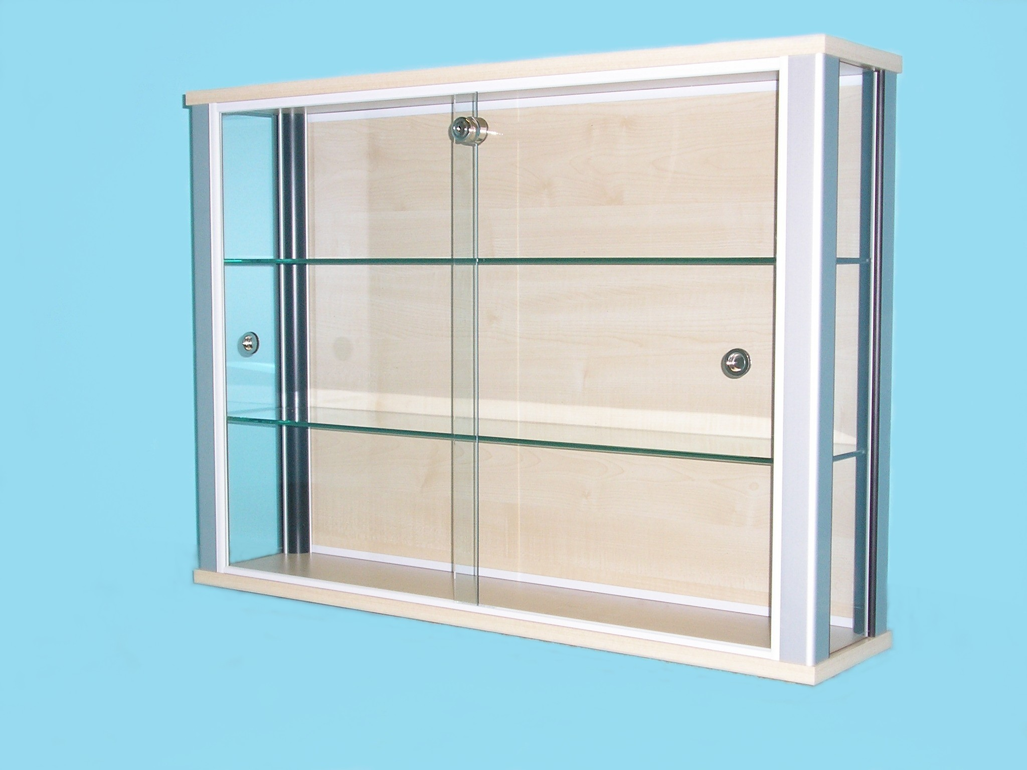 Wall Mounted Glass Cabinets  Designex Cabinets