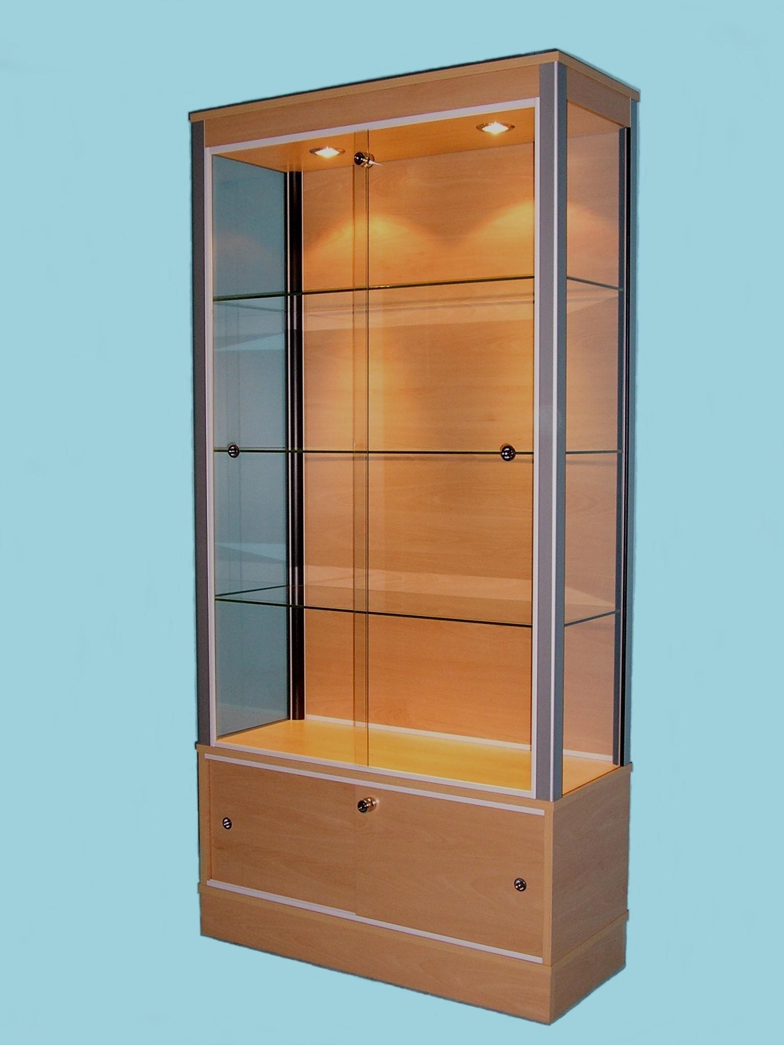 Glass Storage Display Cabinets