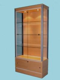 Glass Storage Display Cabinets | Designex Cabinets ...
