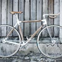 Plywood Bikes, Handlebars and Rack by Dots Design Studio