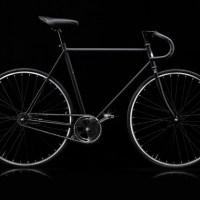 Svart bike designed by BIKEID for the MoMA store