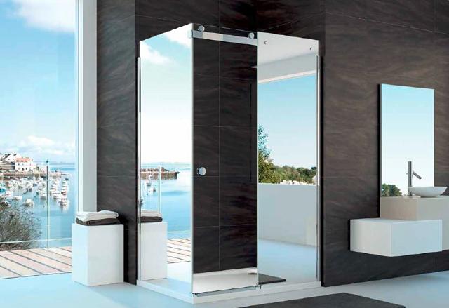 Merlyn showering ou le douche italienne  lirlandaise  Design Feria