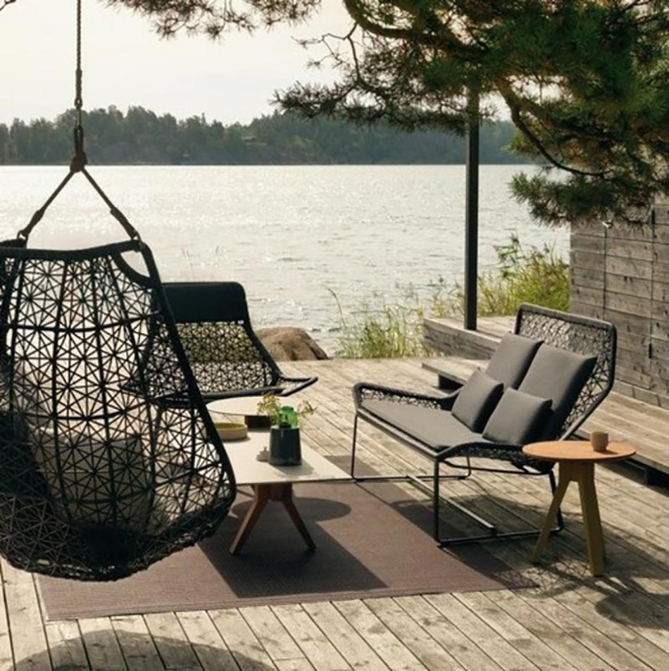 Mobilier de jardin design original par Patricia Urquiola  Design Feria