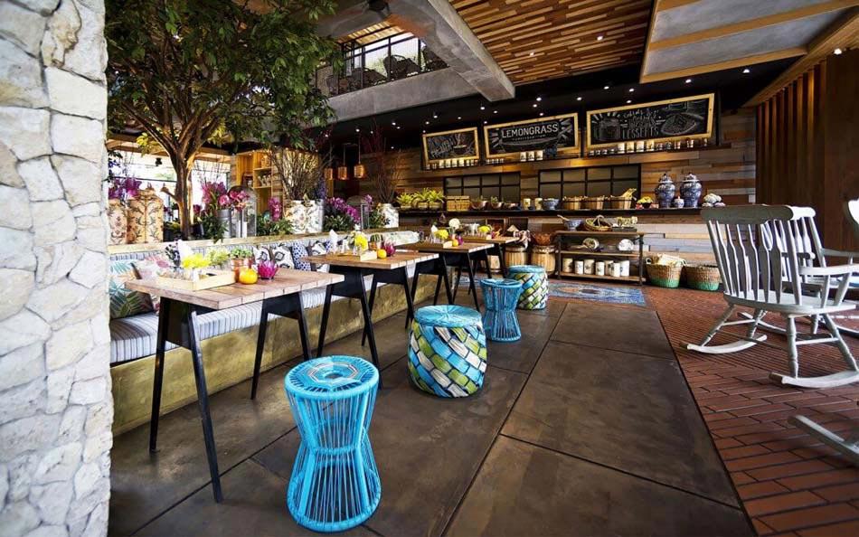 Restaurant Design Paradisiaque Au Cur De LIndonsie