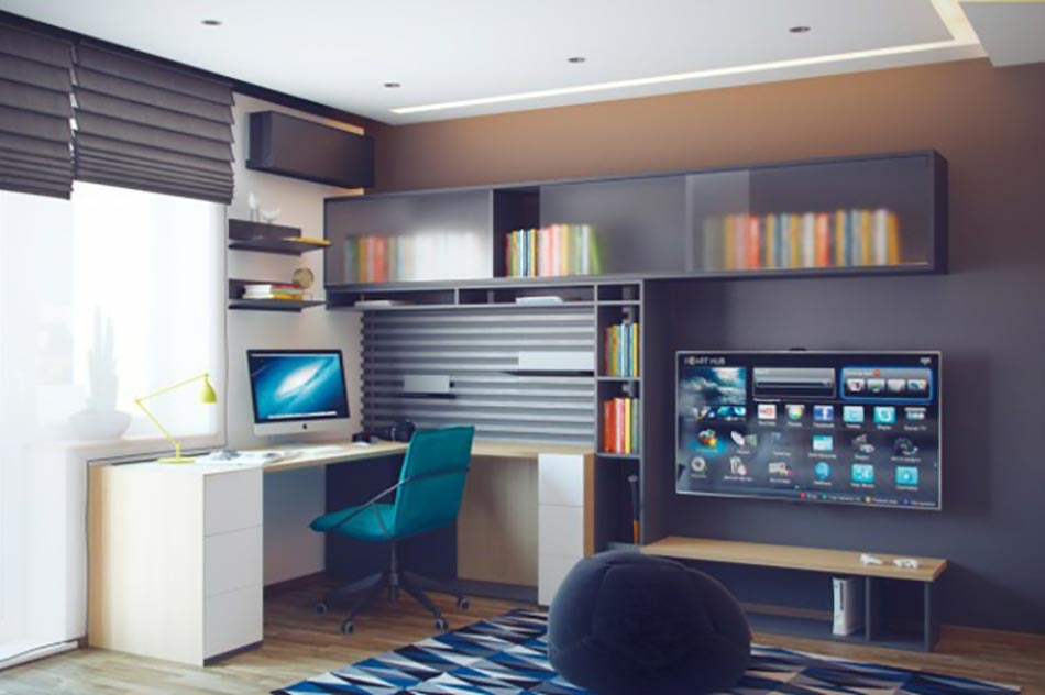 Chambre ado au design dco sympa et original  Design Feria