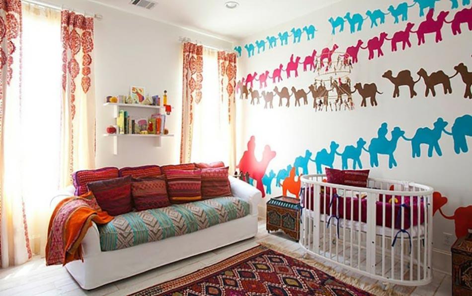 Inspiration chambre enfant orientale