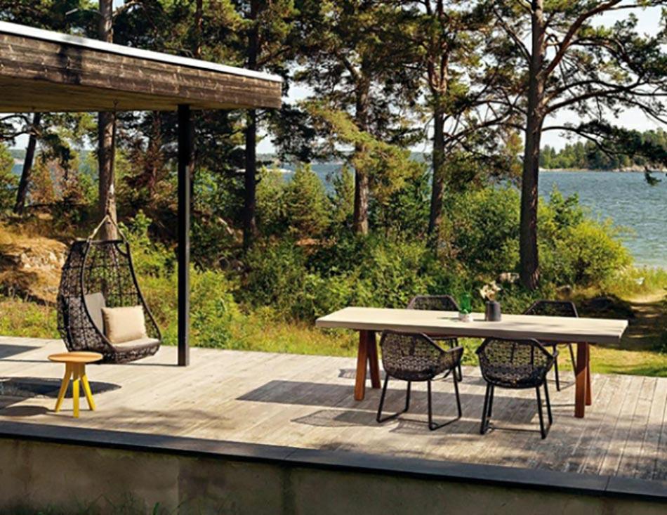 mobilier de jardin design original par