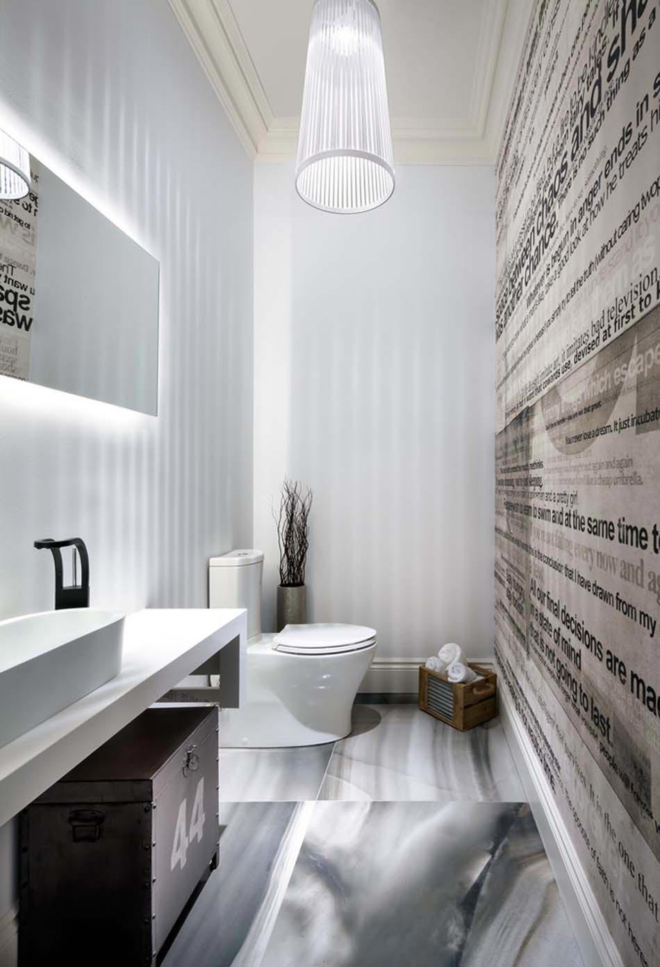 Ides de dcoration inspirantes pour rendre nos toilettes surprenantes  Design Feria