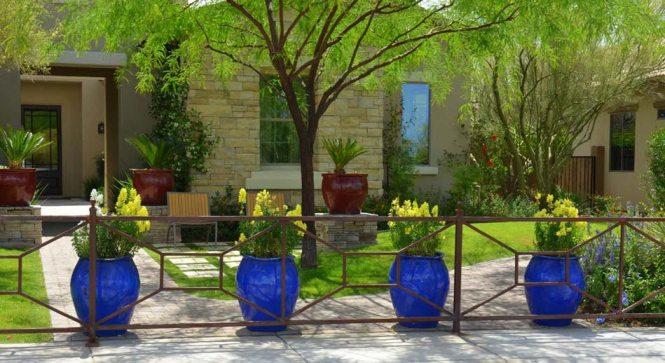 Deco Jardin Hibou Pots En Terre Cuite