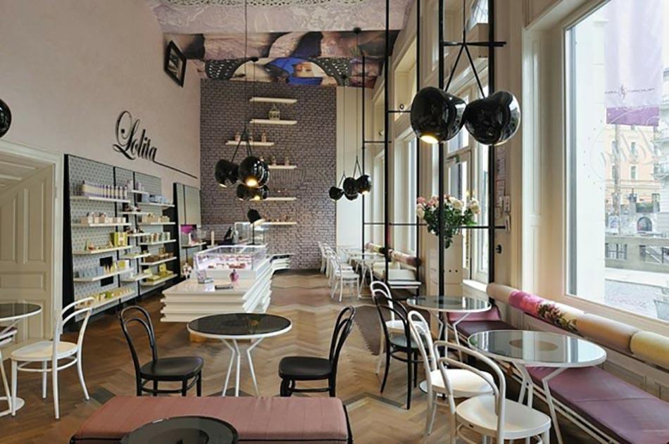 Coffee shop trs design dans la capitale slovne  Design