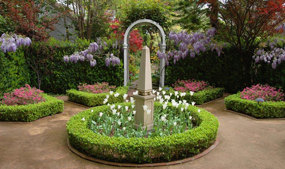 12 Exemples Damnagement Jardin Avec Des Glycines