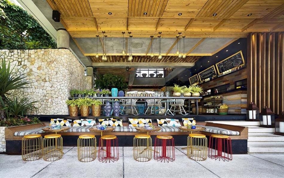 Restaurant Design Paradisiaque Au Cur De LIndonsie Lemongrass Design Feria
