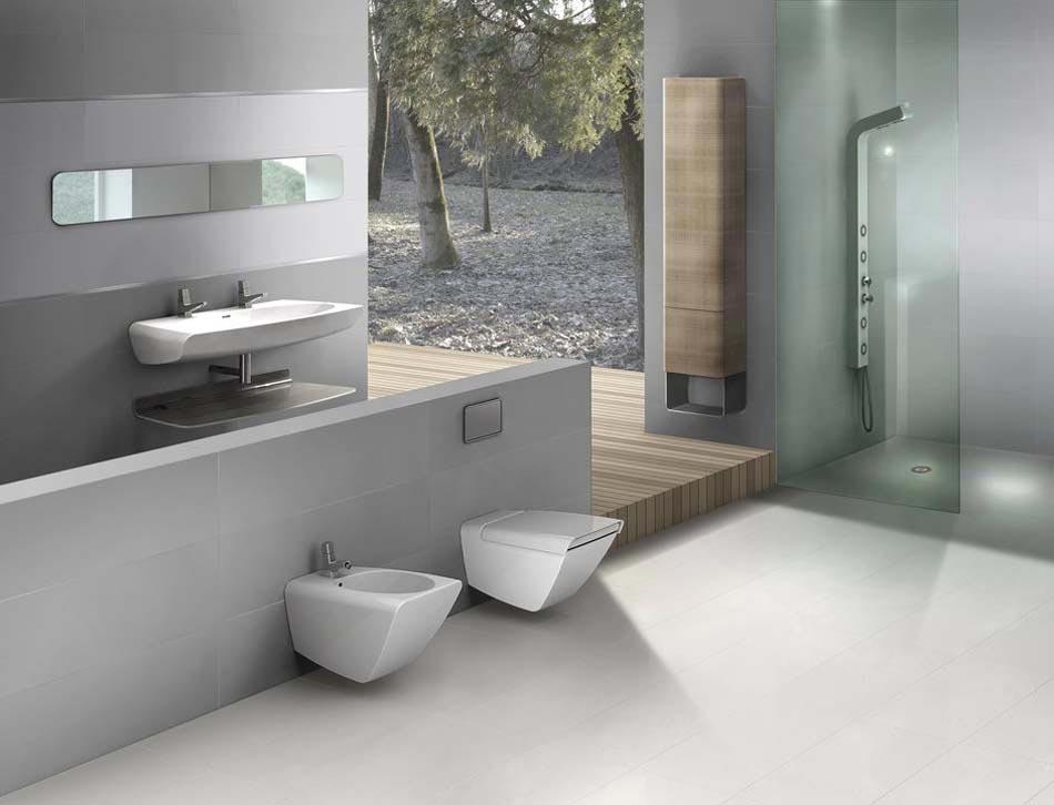 projet d une salle de bain contemporaine gamme neutral d aparici design