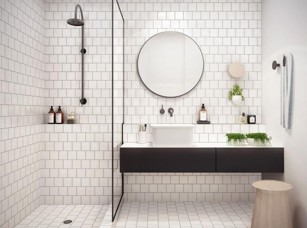 salle de bain chic minimaliste