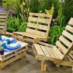 Les Palettes En Tant Que Mobilier De Jardin Design Feria