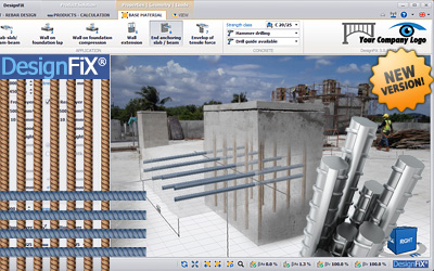 NEW: Post-installed rebar design