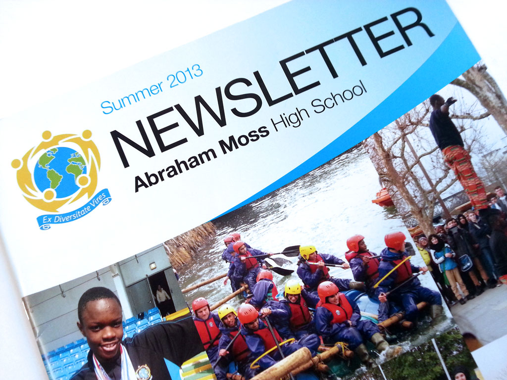 School Newsletter Design