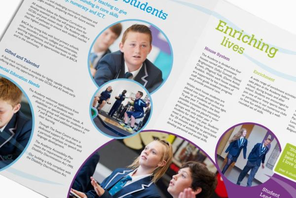 Brighton Aldridge Community Academy Prospectus Design