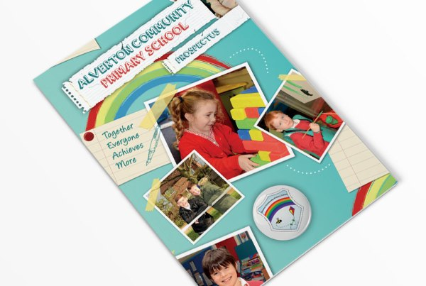 Alverton Community Primary School Prospectus Design