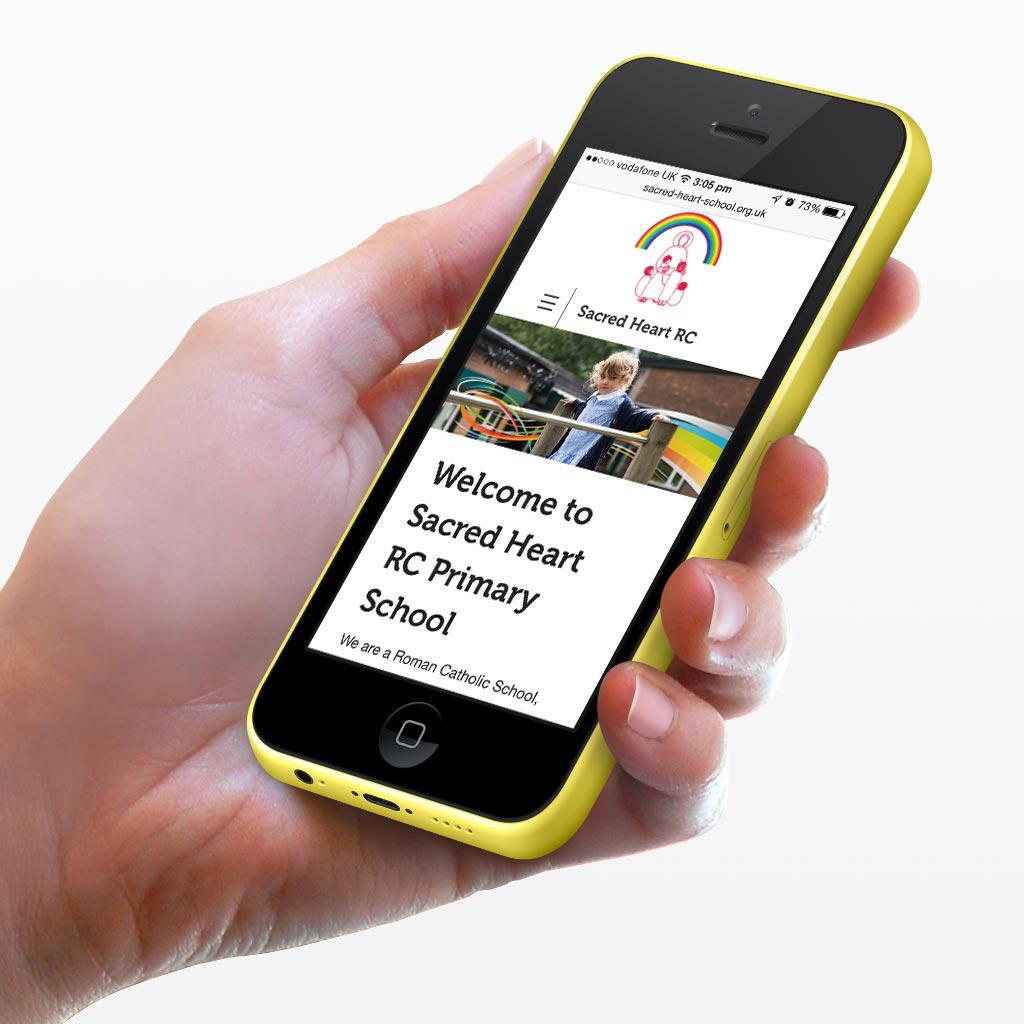 Sacred Heart Primary School Responsive Website Design